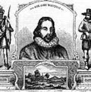 John Winthrop, English Puritan Lawyer Poster by Photo Researchers