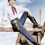Johnny Guitar, Joan Crawford, 1954 Poster