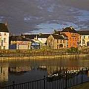 Johns Quay & River Nore, Kilkenny City Poster