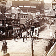 Jollification. Parade Celebrating Poster by Everett