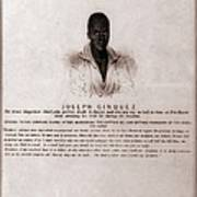 Joseph Cinquez, Lead Fifty-four African Poster by Everett