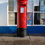 Jubilee Postbox Poster