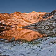 June Snowfall At Angel Lake Poster