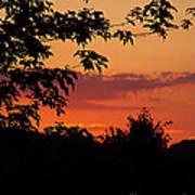 June Sunset Poster