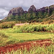 Kalalea Mountain Range Poster