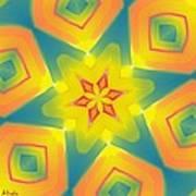Kaleidoscope Series Number 8 Poster