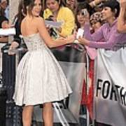 Kate Beckinsale Wearing An Elie Saab Poster