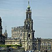 Katholische Hofkirche - Dresden Poster
