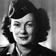 Kay Summersby Morgan Served As General Poster by Everett