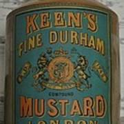 Keen's Mustard Poster