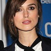 Keira Knightley At The Press Conference Poster