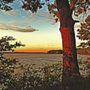 Kentucky Lake Sunrise Poster