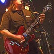 Kevin Kinney Lead Singer And Guitarist For Drivin N Cryin Poster