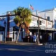 Key West Bar Sloppy Joes Poster by Susanne Van Hulst