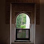 Keyhole Window Poster