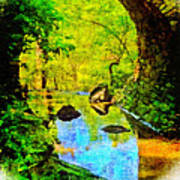 Keystone Bridge Poster