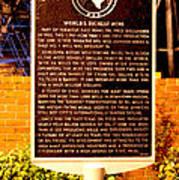 Kilgore Historical Marker Poster