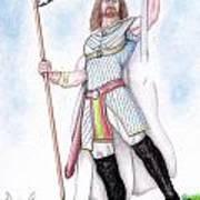 King Arthur Poster by Fabio Lion