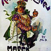 King Carnaval March - Mardi Gras Poster