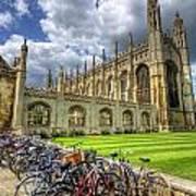 Kings College Cambridge Poster