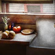 Kitchen - Sink - Farm Kitchen  Poster