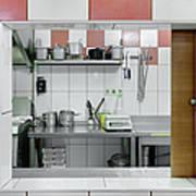Kitchen Window Poster by Magomed Magomedagaev