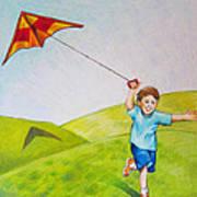 Kite Flying Fun Poster