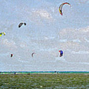 Kites Over The Bay Poster