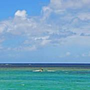 Kitesurfing In Kauai II Poster