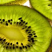 Kiwi Fruit Macro 5 Poster