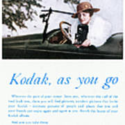 Kodak Advertisement, 1917 Poster