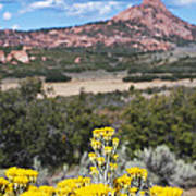 Kolob Terrace Red Buttes Poster