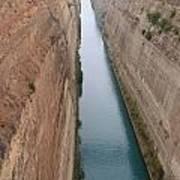 Korintski Kanal Poster