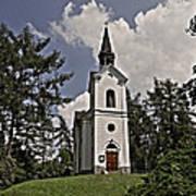Kostel Panny Marie Lourdske Poster