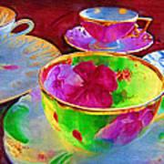 Ladies Tea Time Poster