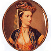 Lady Mary Wortley Montagu Poster