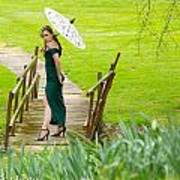 Lady On The Bridge Poster