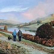 Ladybower Reservoir - Derbyshire Poster