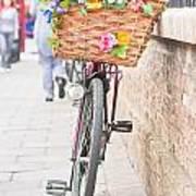 Lady's Bike Poster