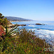 Laguna Beach California Coastline Poster