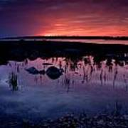Lake Huron Sunset Poster