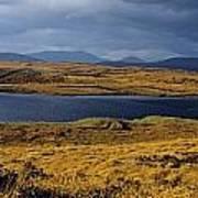 Lake In A Bog, Oughterard, Connemara Poster