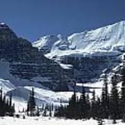 Lake Louise Glacier Poster