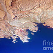 Lake Mead Shores Nv Planet Earth Poster