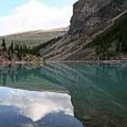 Moraine Lake - Lake Louise, Alberta Poster