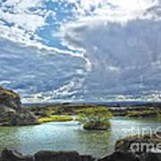 Lake Myvatn - Iceland Poster