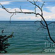 Lake Ontario Near Chimney Bluffs Poster