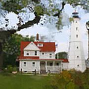 Lake Park Lighthouse Poster