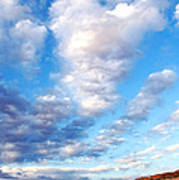Lake Powell Clouds Poster