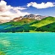 Lake Sils Poster